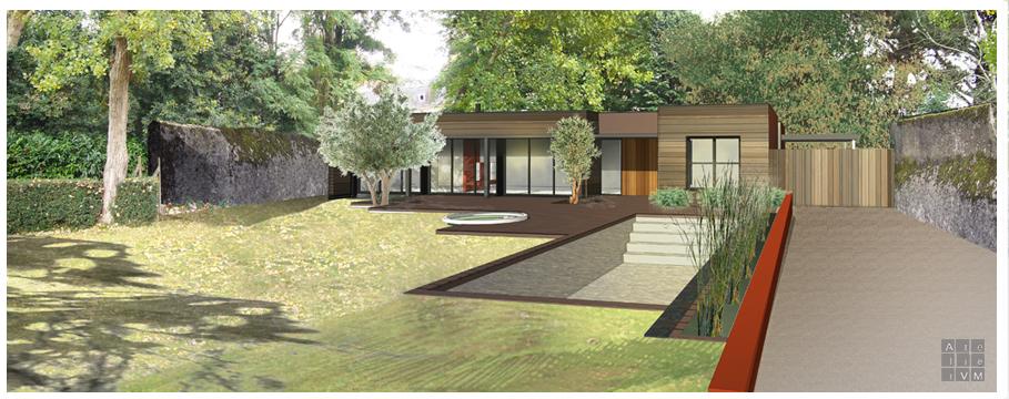 Atelier vm architecture l 39 architecte de votre maison for Piscine nantes gloriette