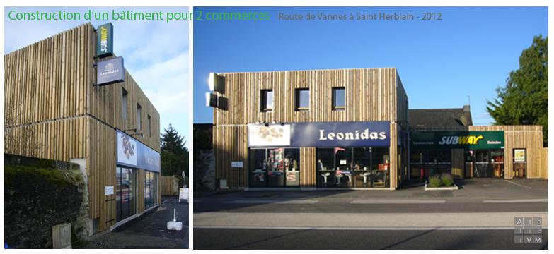 – Construction neuve – Route de Vannes à Saint Herblain