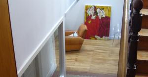 vide escalier lumière rénovation maison architecte nantes