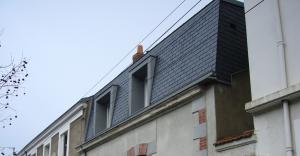 Rénovation surélévation maison architecte nantes